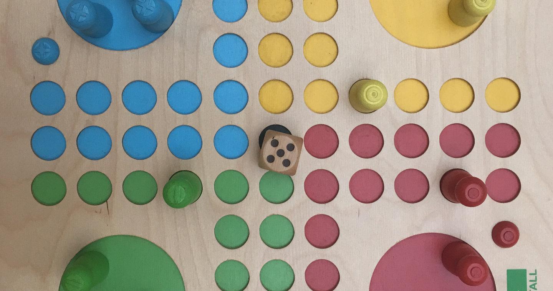 Fia touch -  A ludo game set