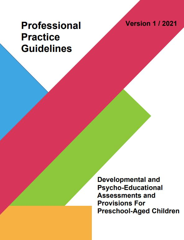 Developmental and Psycho-Educational Assessments and Provisions For Preschool-Aged Children